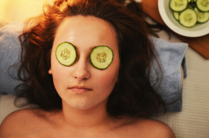 Give a weekly facial to yourself