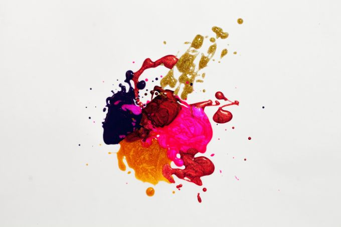 Paint a wall in rich color