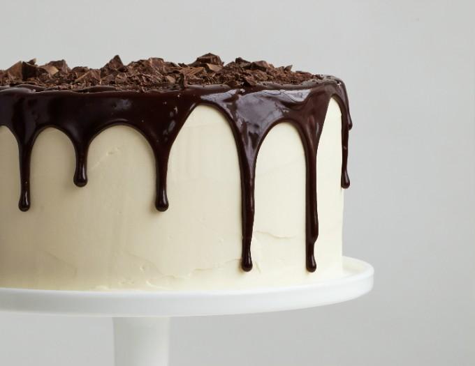 Make a drip cake
