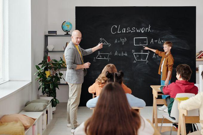 Participate in the class