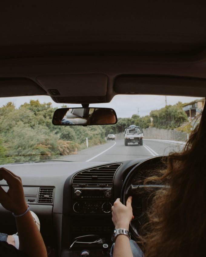 Carpool to work or use public transportation