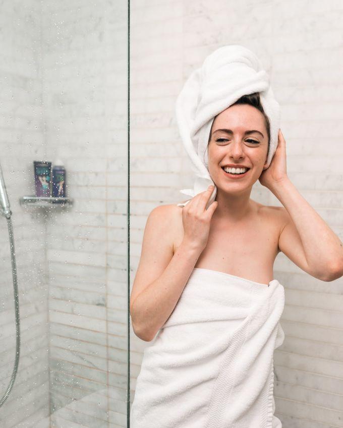 Take a warm shower