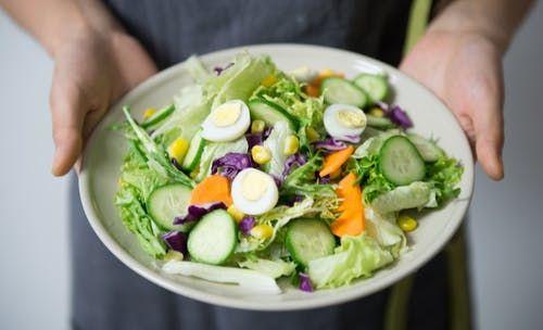 Go on a calorie deficit diet