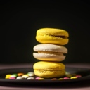 image for topic 'Pipe macarons'